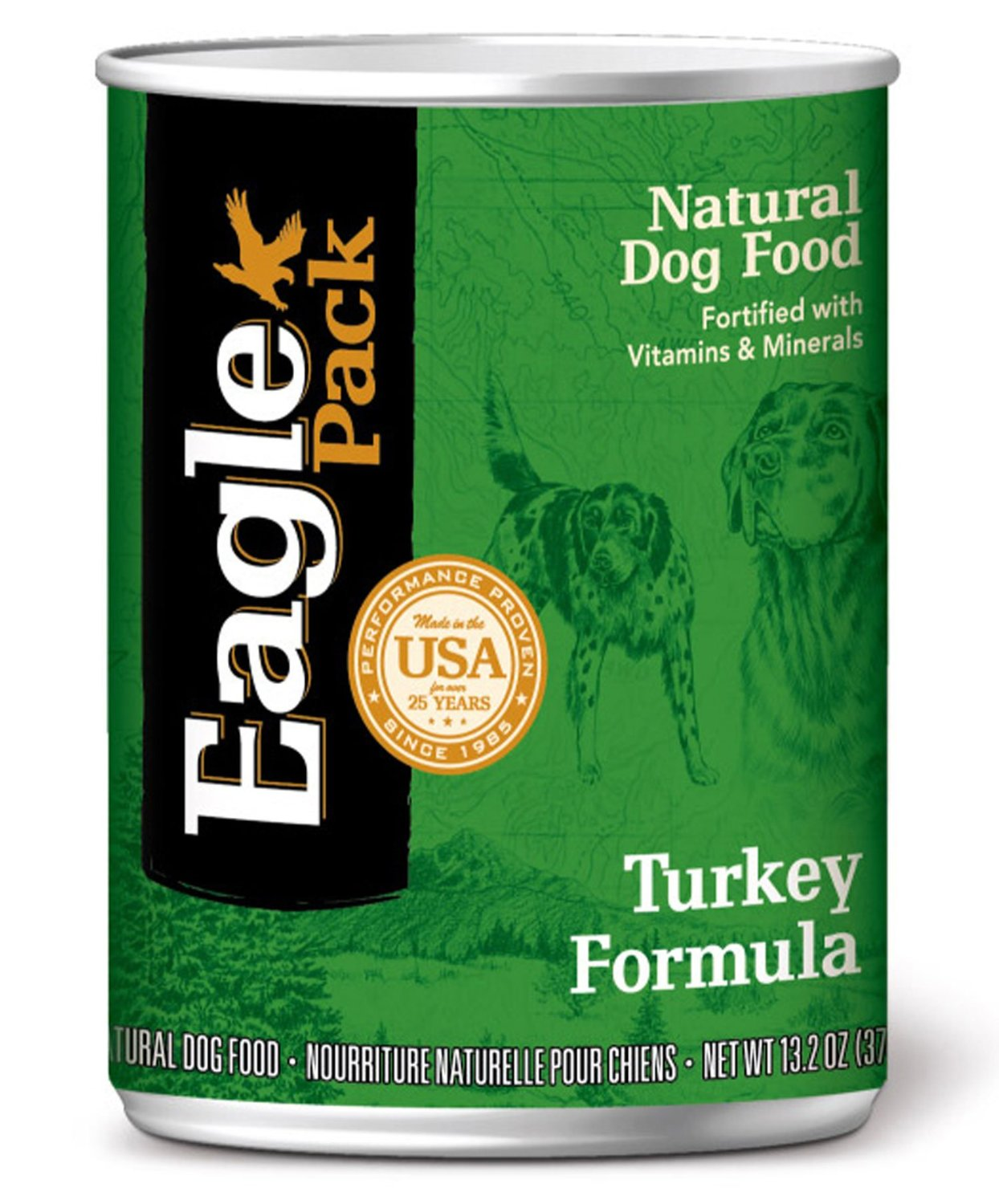 Eagle Pack Natural Turkey Canned Dog Food