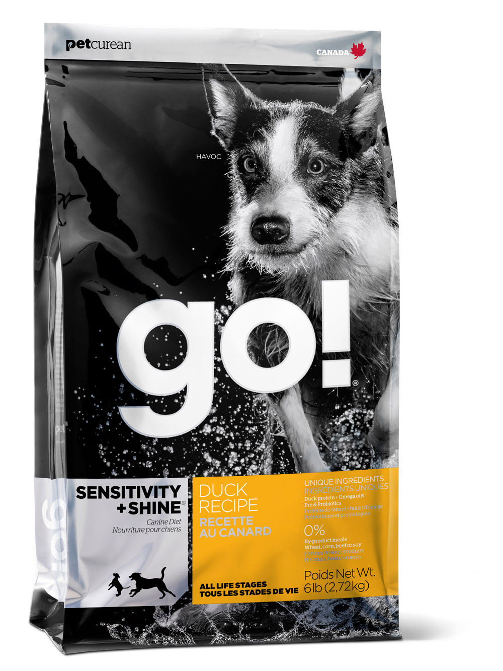 Go! Sensitivity + Shine Dry Dog Food