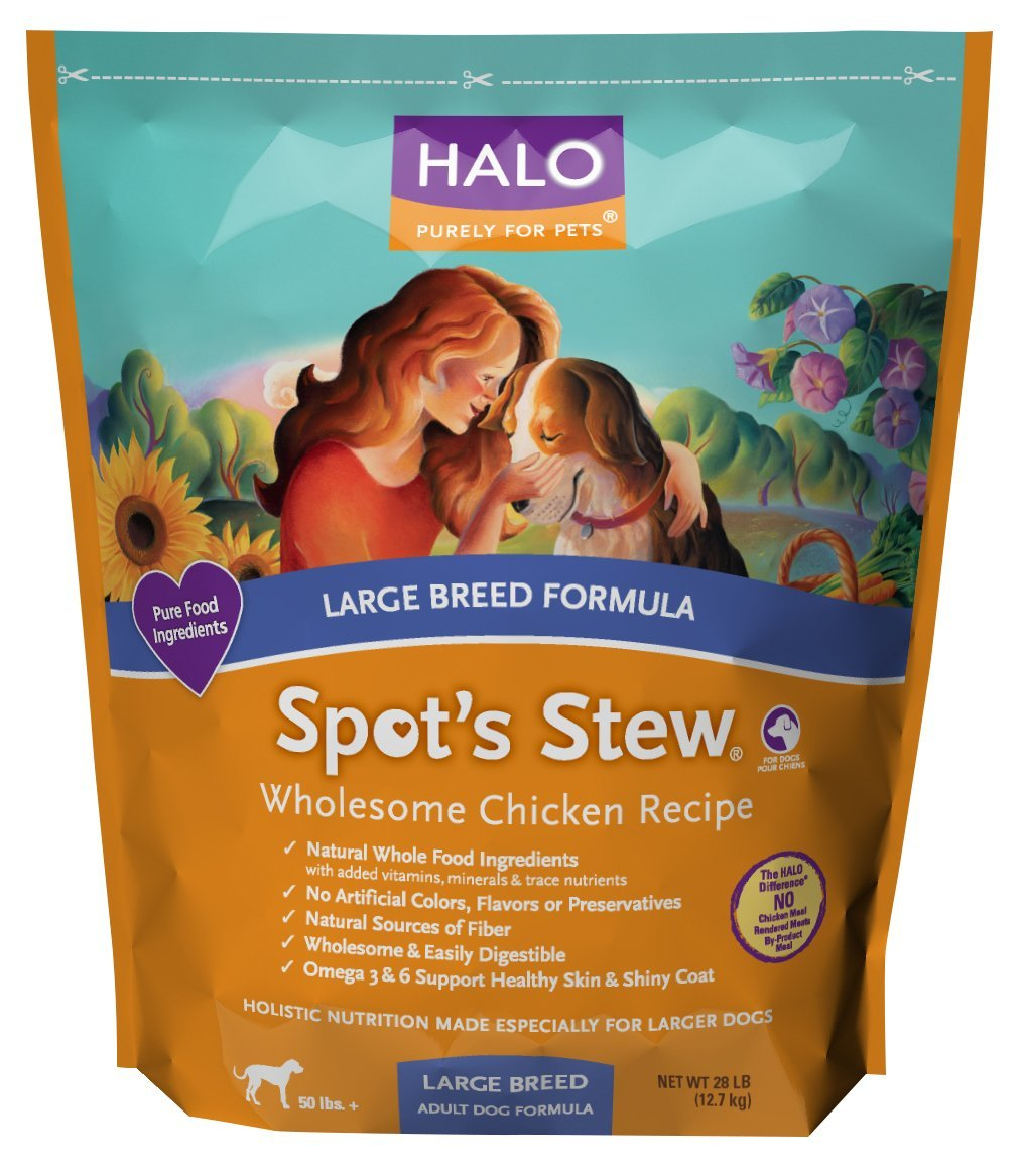 Halo Large Breed Dog Food