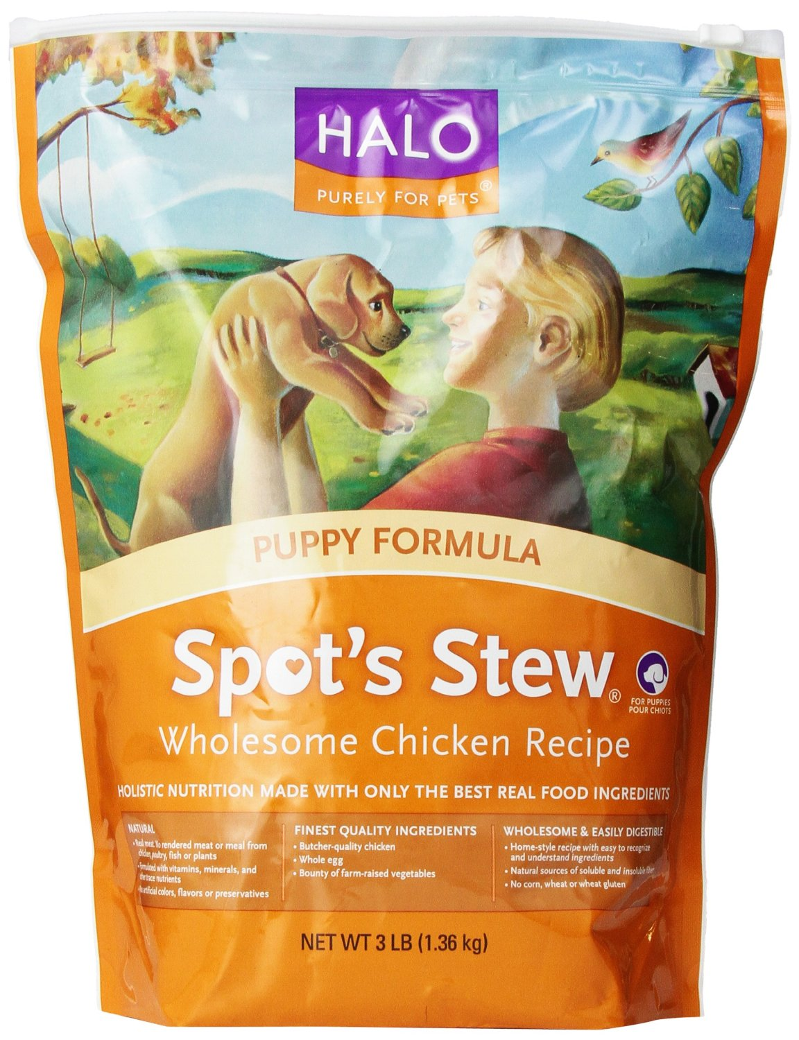 Halo Puppy Dog Food