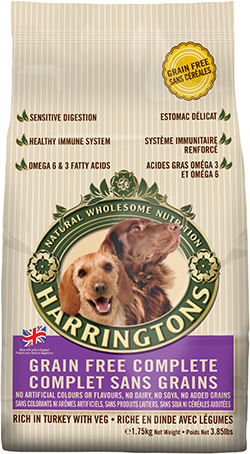 Harrington's Grain-Free Complete Dog Food