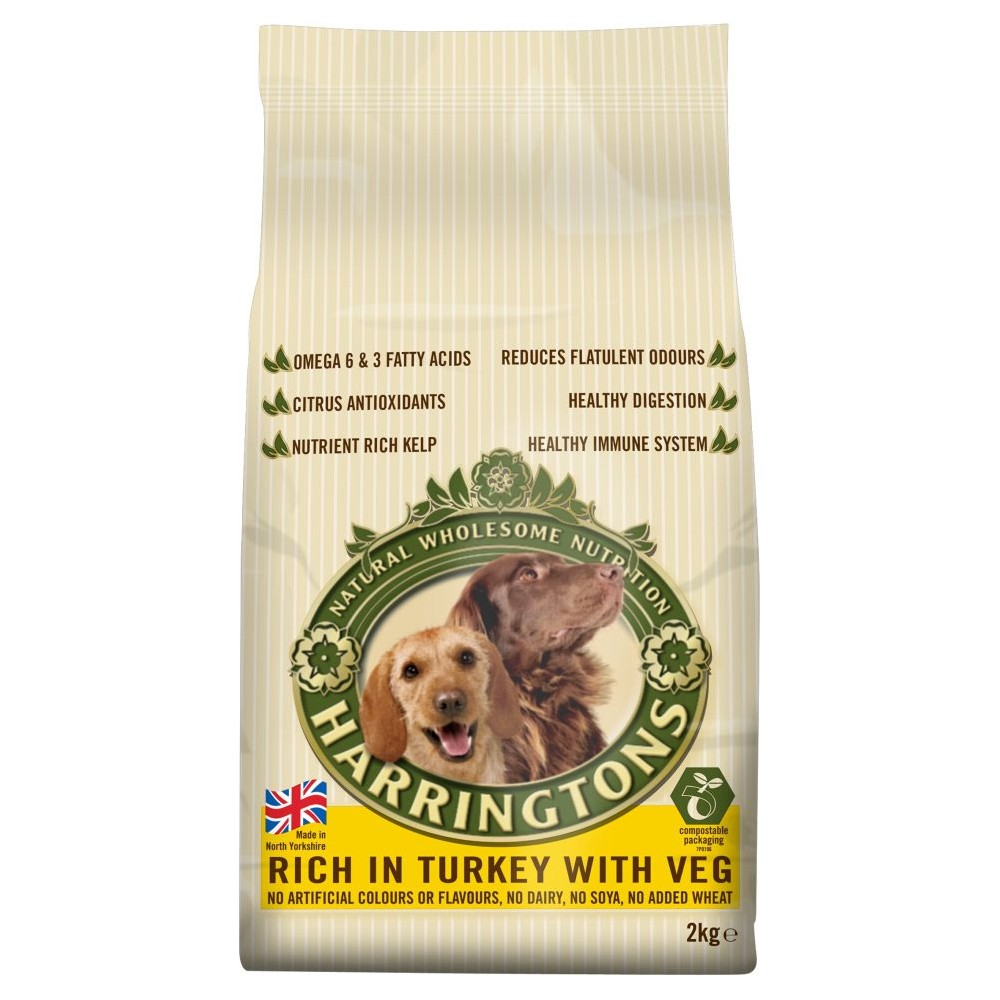 Harrington's Turkey with Veg Dog Food