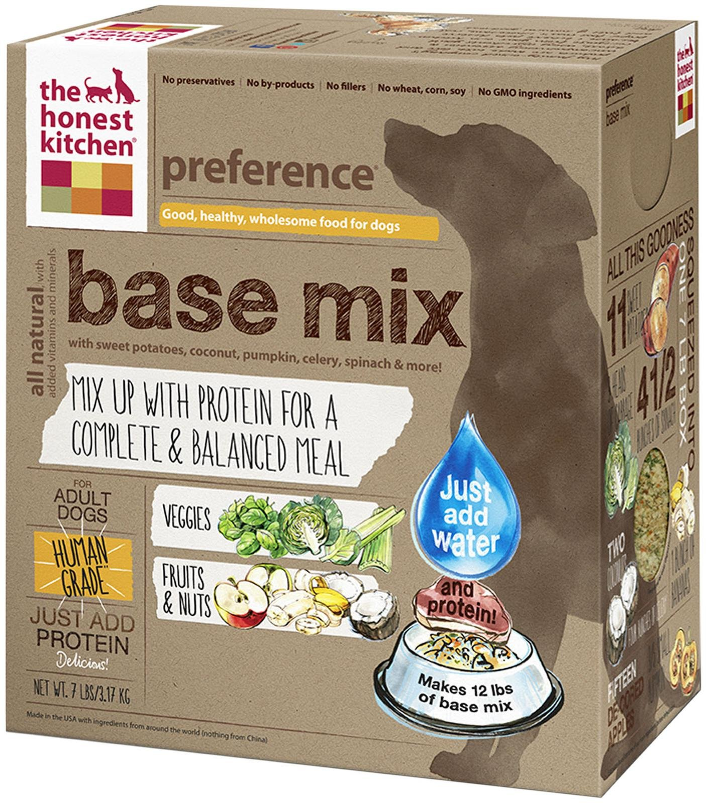 Honest Kitchen's Base Mix Dog Food
