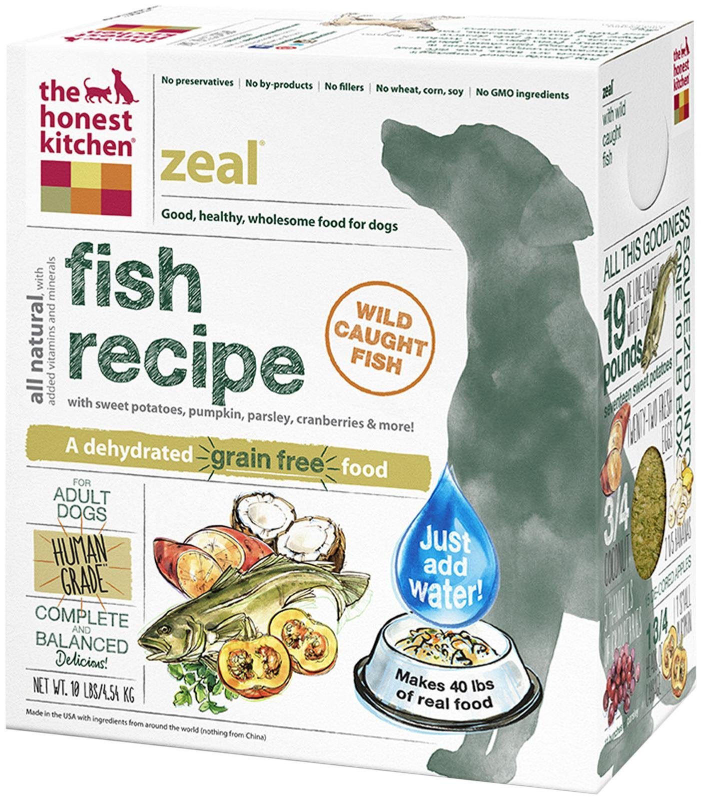 Honest Kitchens Grain Free Fish Dog Food