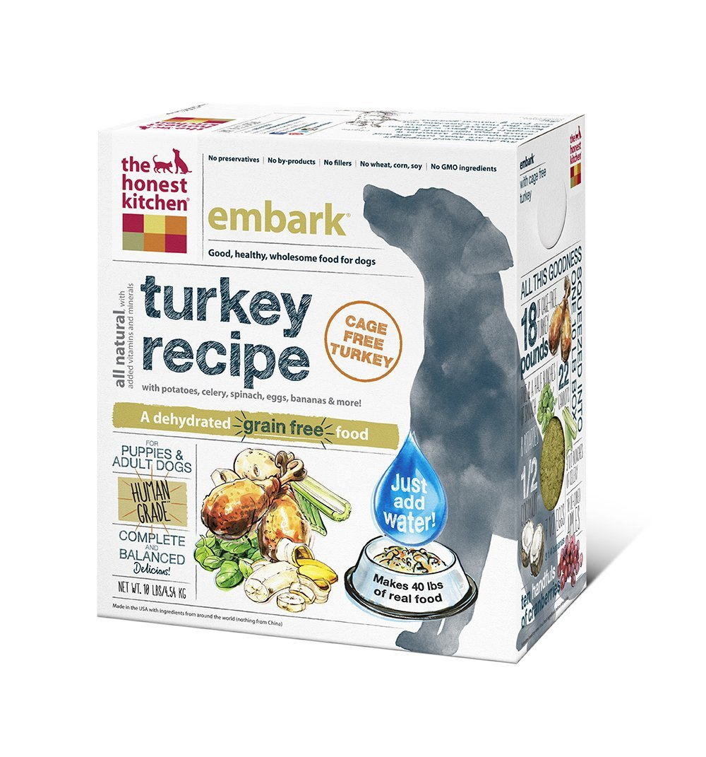 Honest Kitchens Grain Free Turkey Dog Food