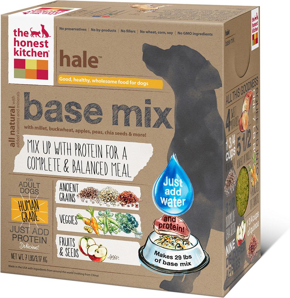 Honest Kitchen's Whole Grain Base Mix Dog Food
