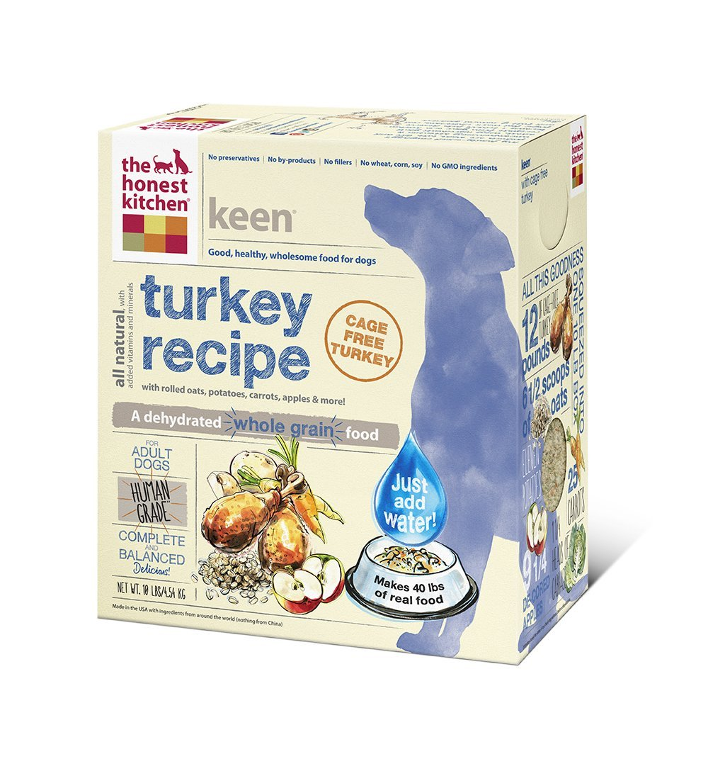 Honest Kitchen's Whole Grain Turkey Dog Food
