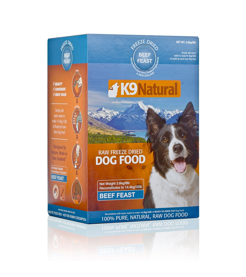 K9 Natural Beef Freeze Dried Dog Food