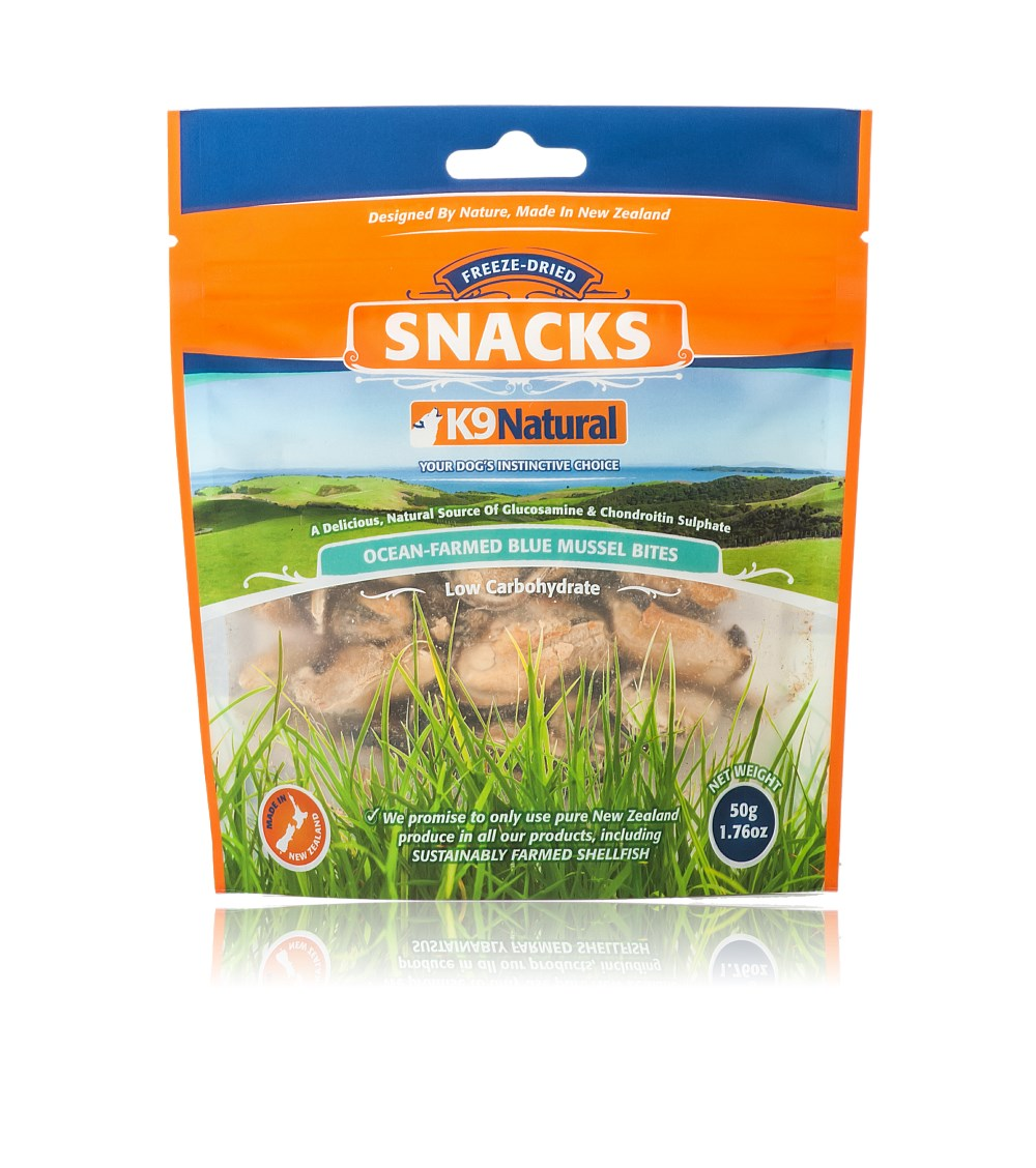 K9 Natural Blue Mussel Snacks