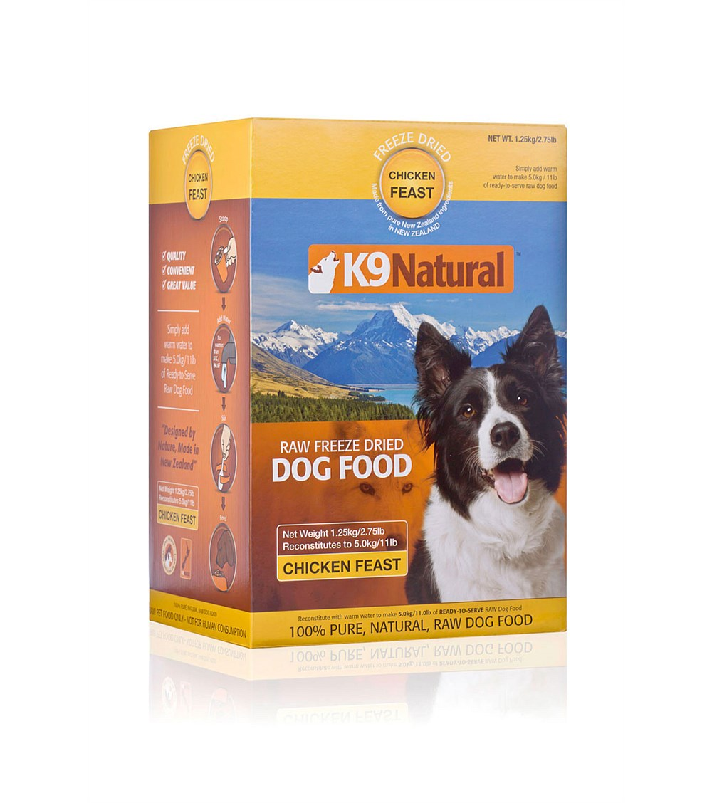 K9 Natural Chicken Freeze Dried Dog Food