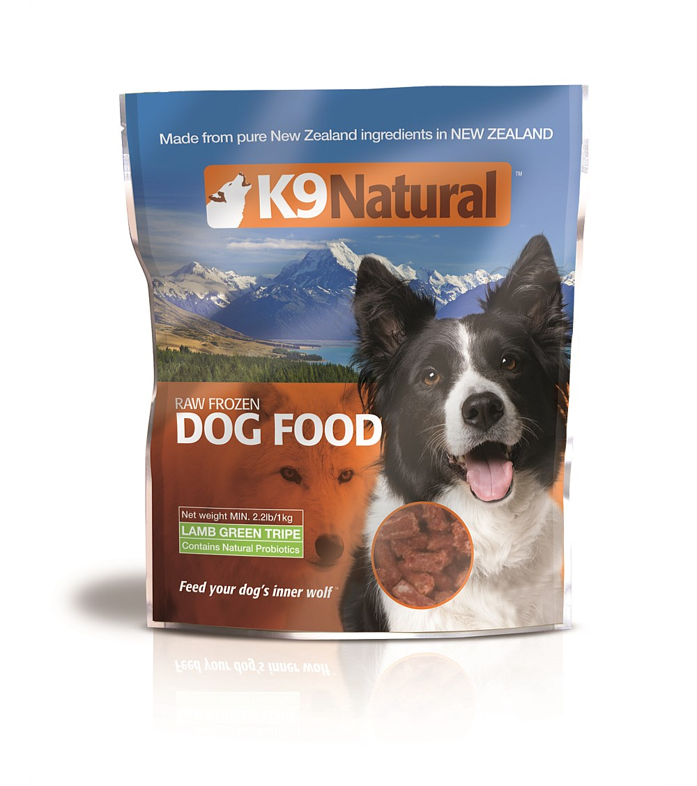 K9 Natural Frozen Dog Food