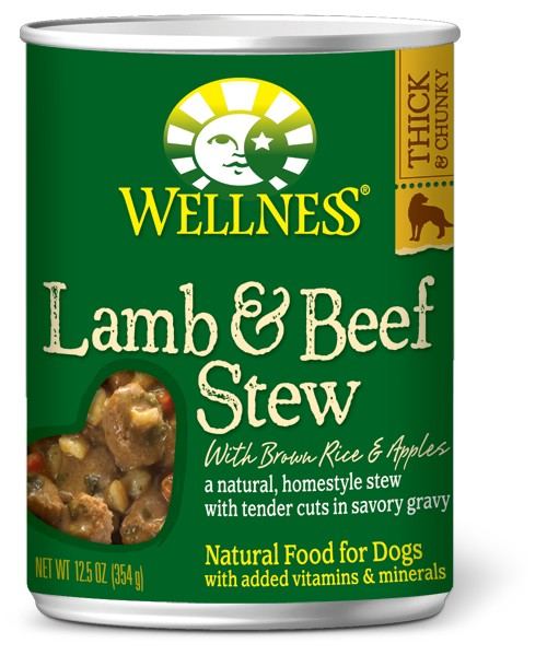 Lamb & Beef Stew with Brown Rice & Apples