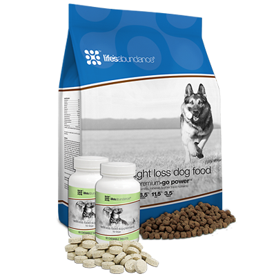 Life's Abundance Adult Weight Loss System Dog Food
