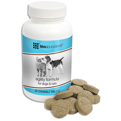 Life's Abundance Agility Formula Dog Supplements