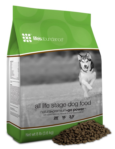 Life's Abundance All Life Stages Dog Food