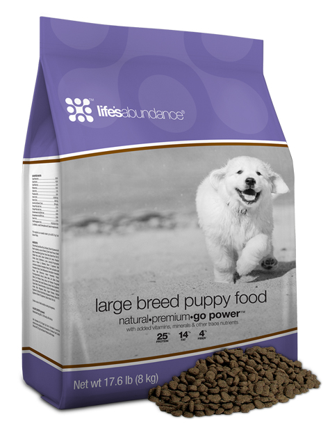 Life's Abundance Large Breed All Life Stages Dog Food