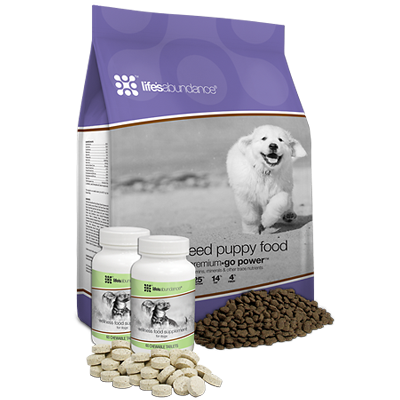 Life's Abundance Large Breed Puppy System Dog Food