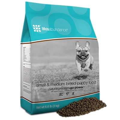 Life's Abundance Small & Medium Breed Dog Food