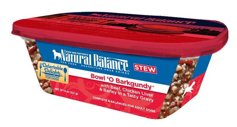 Natural Balance Organic Bowl O Barkgundy Dog Food Stew