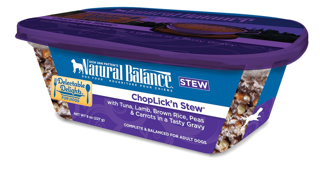 Natural Balance Organic ChopLickin Dog Food Stew
