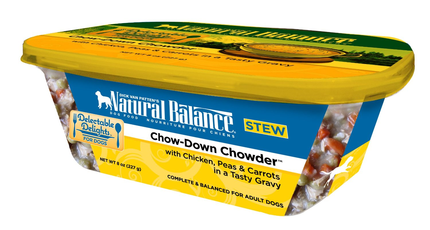 Natural Balance Organic Chow-Down Chowder Dog Food Stew