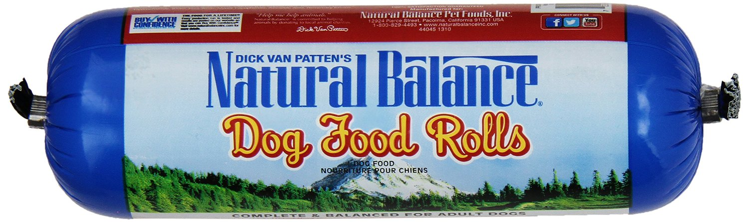 Natural Balance Organic Dog Food Rolls