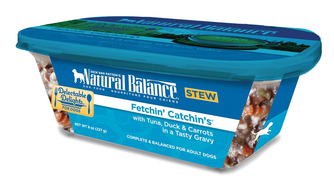 Natural Balance Organic Fetchin Catchins Dog Food Stew