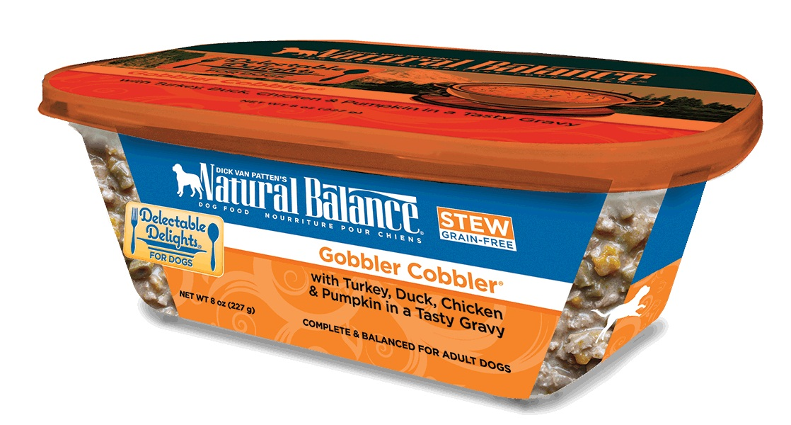 Natural Balance Organic Gobbler Cobbler Dog Food Stew