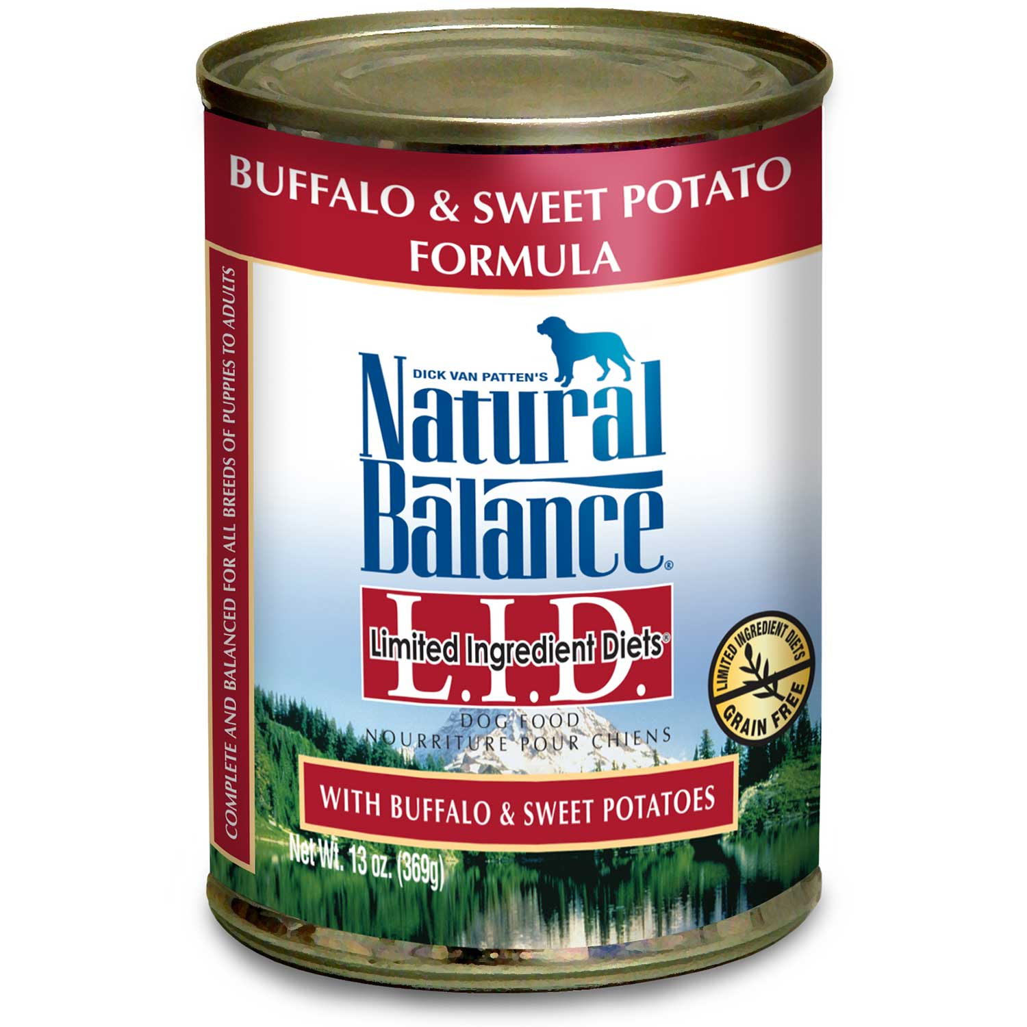 Natural Balance Organic LID Limited Ingredient Diets Canned Dog Formulas