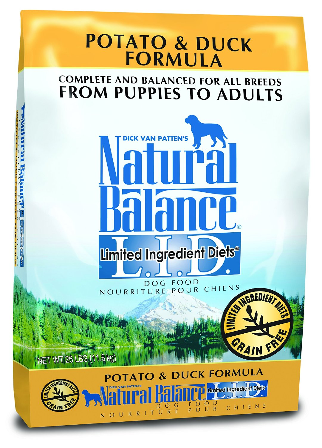 Natural Balance Organic LID Limited Ingredient Diets Dry Dog Formulas