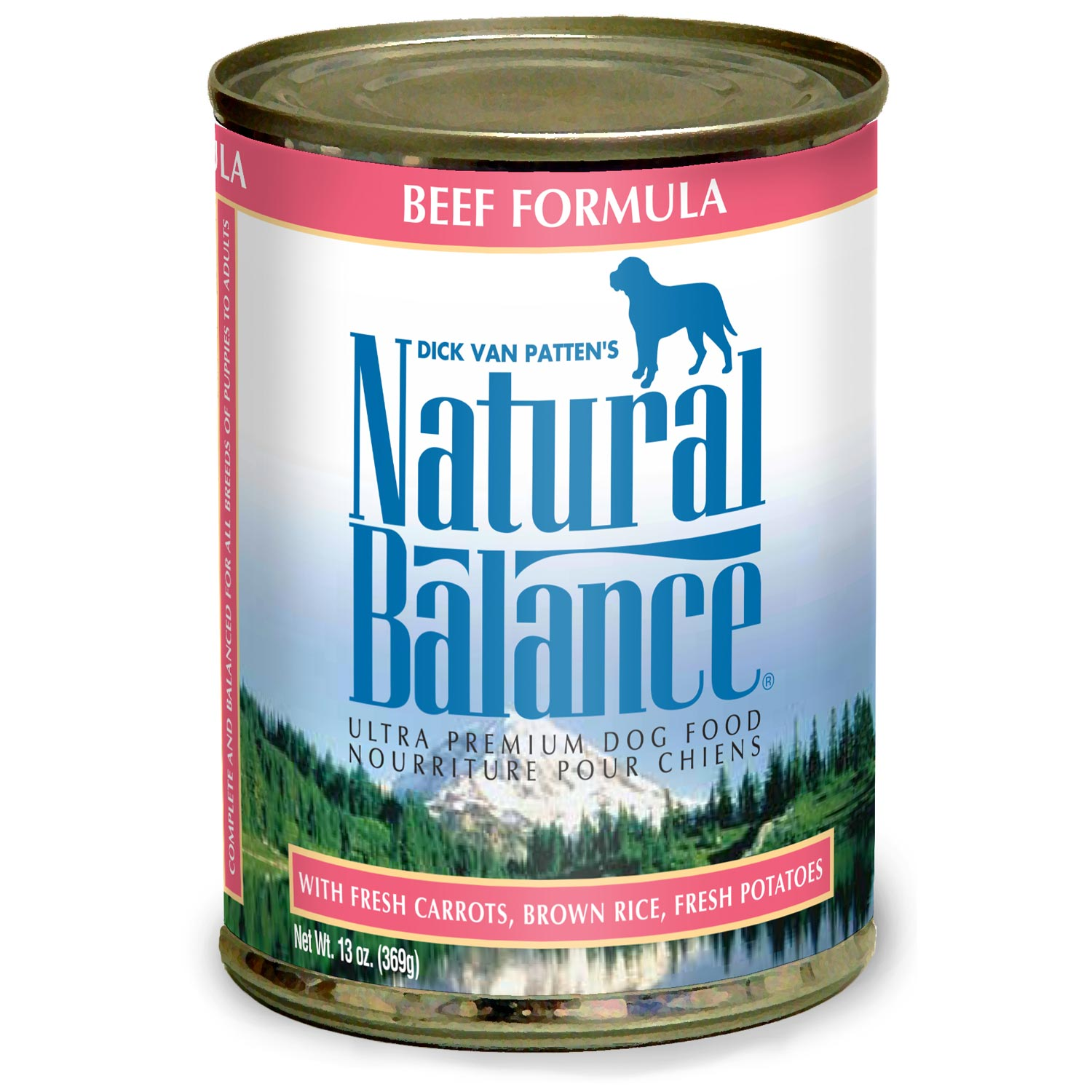 Natural Balance Organic Ultra Premium Canned Dog Formulas