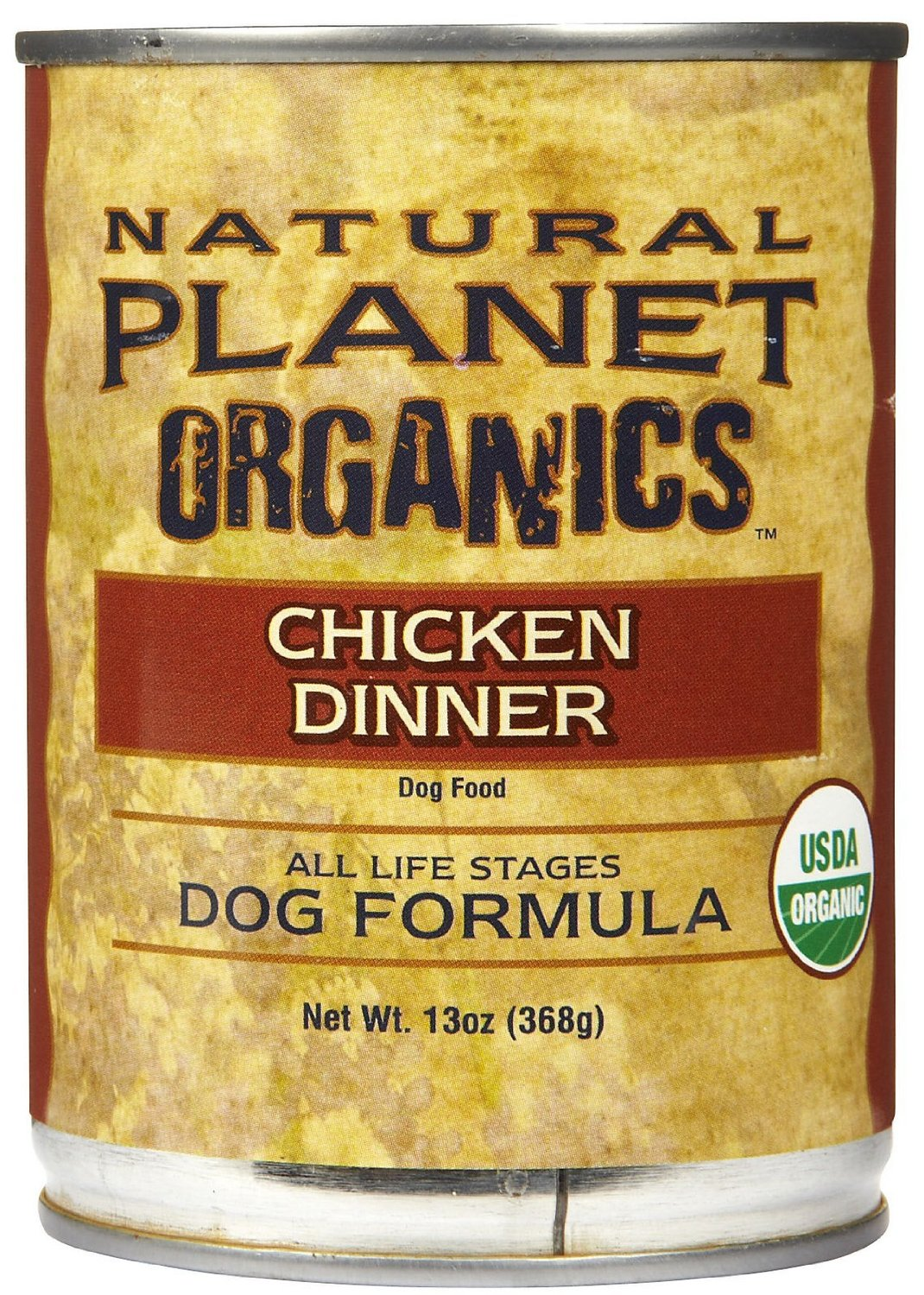 Natural Planet Organics Canned Dog Food