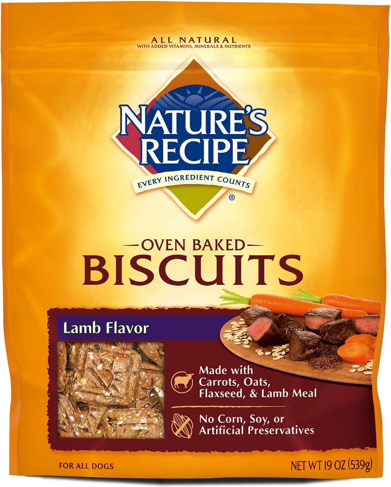 Nature's Recipe Biscuits & Treats Dog Food