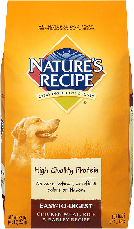 Nature's Recipe Easy to Digest Dog Food
