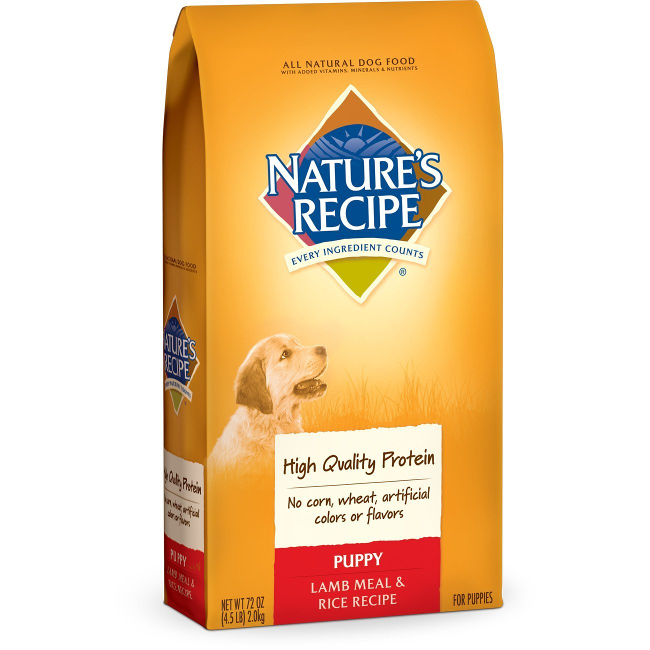 Nature's Recipe Puppy Dog Food