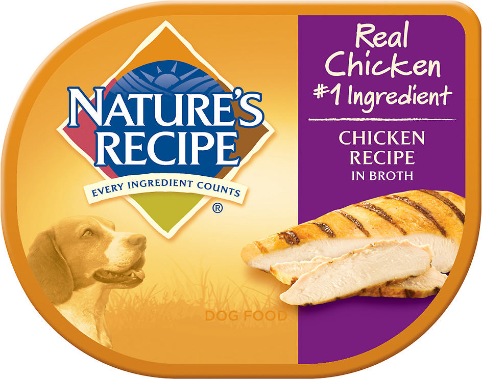 Nature's Recipe Wet Dog Food Cups