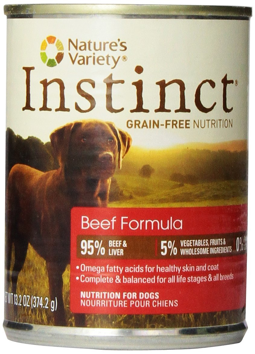 Nature's Variety Instinct Cans for Dogs