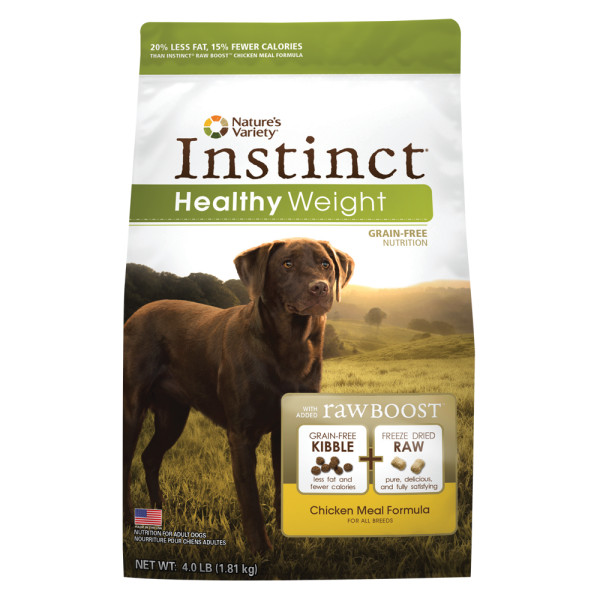 Nature's Variety Instinct Healthy Weight Kibble for Dogs