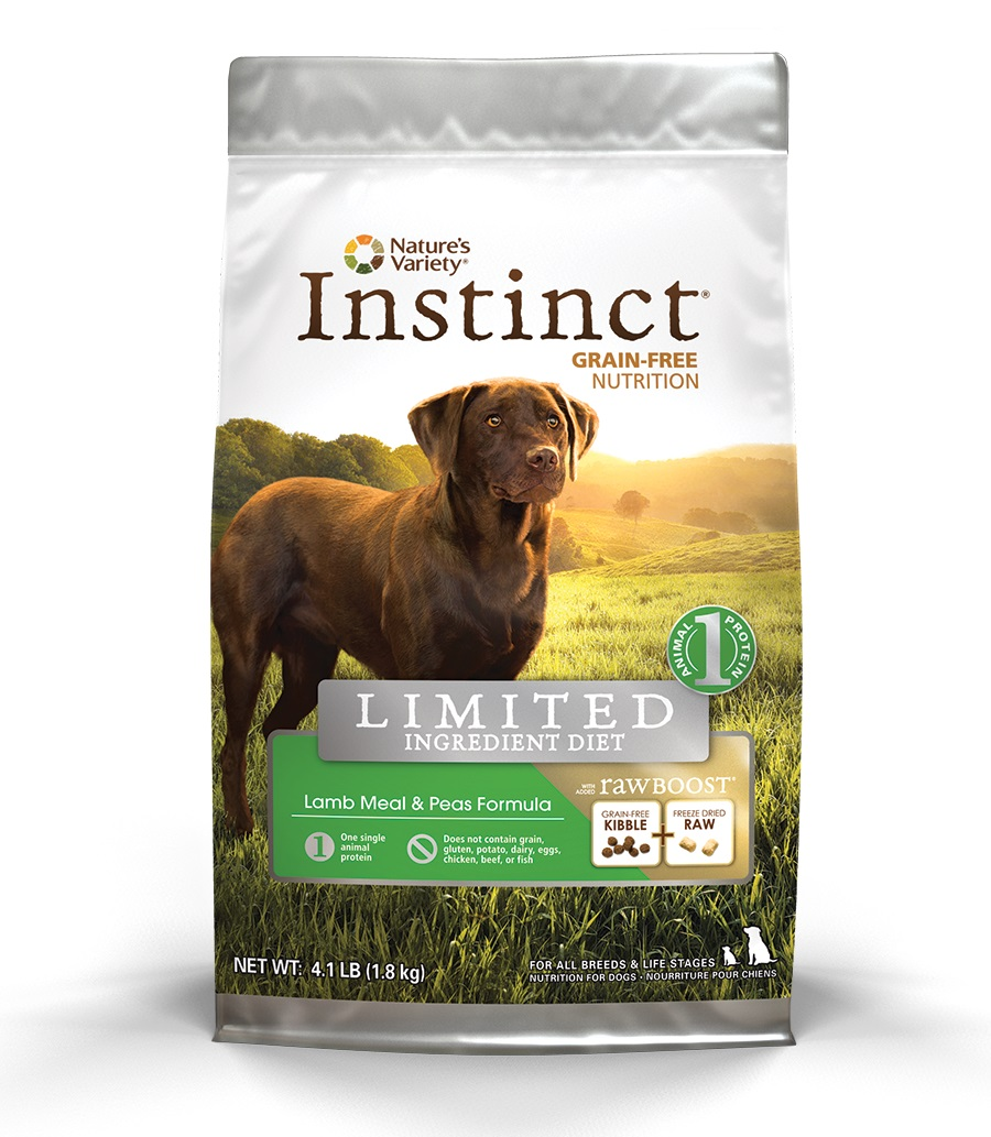 Nature's Variety Instinct Limited Ingredient Kibble with Raw Boost for Dogs