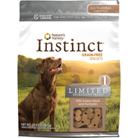 Nature's Variety Instinct Limited Ingredient Treats for Dogs