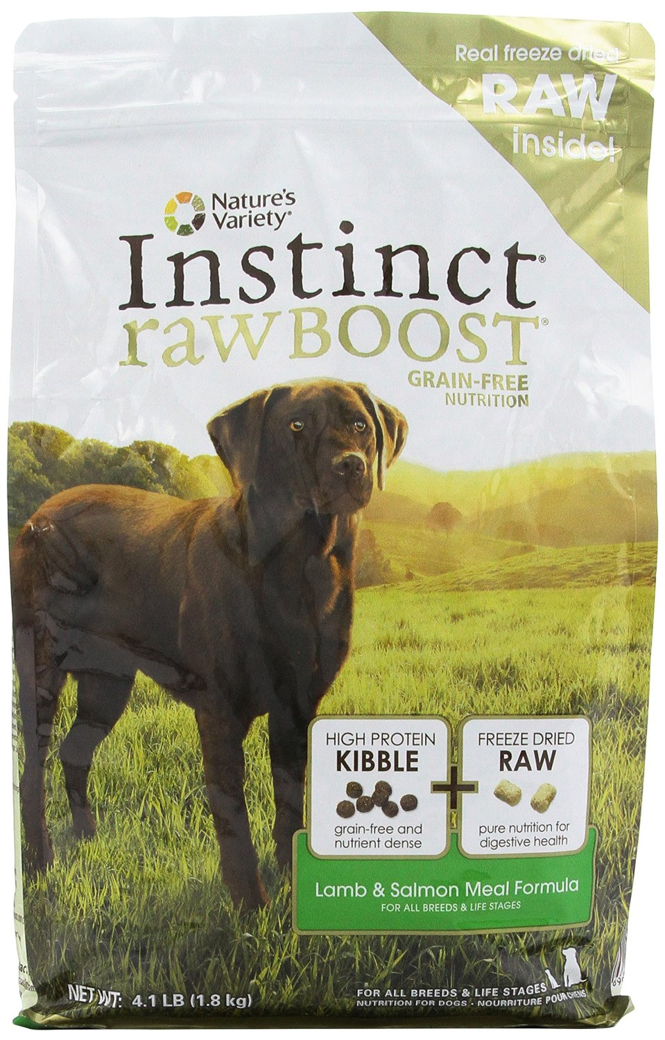 Nature's Variety Instinct Raw Boost Kibble for Dogs