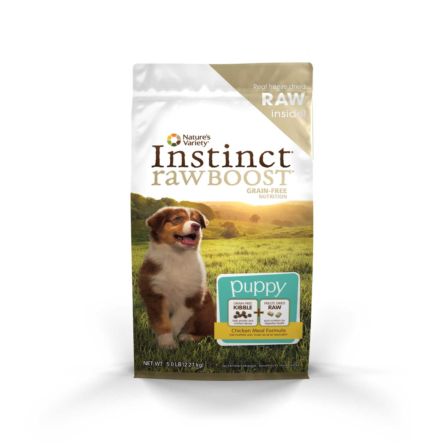 Nature's Variety Instinct Raw Boost Kibble for Puppies
