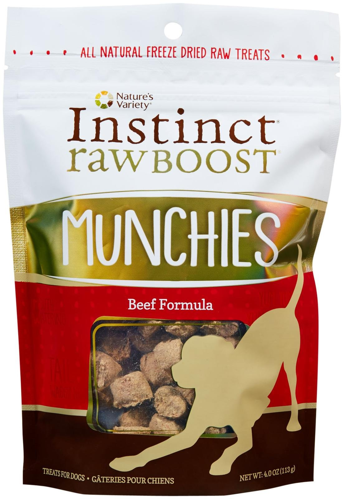 Nature's Variety Instinct Raw Boost Munchies Treats for Dogs