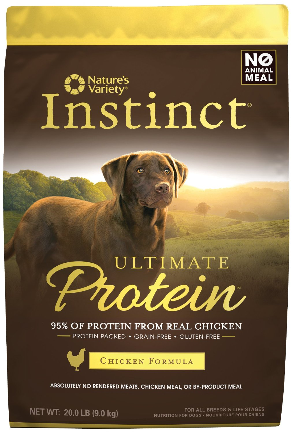 Nature's Variety Instinct Ultimate Protein Kibble for Dogs