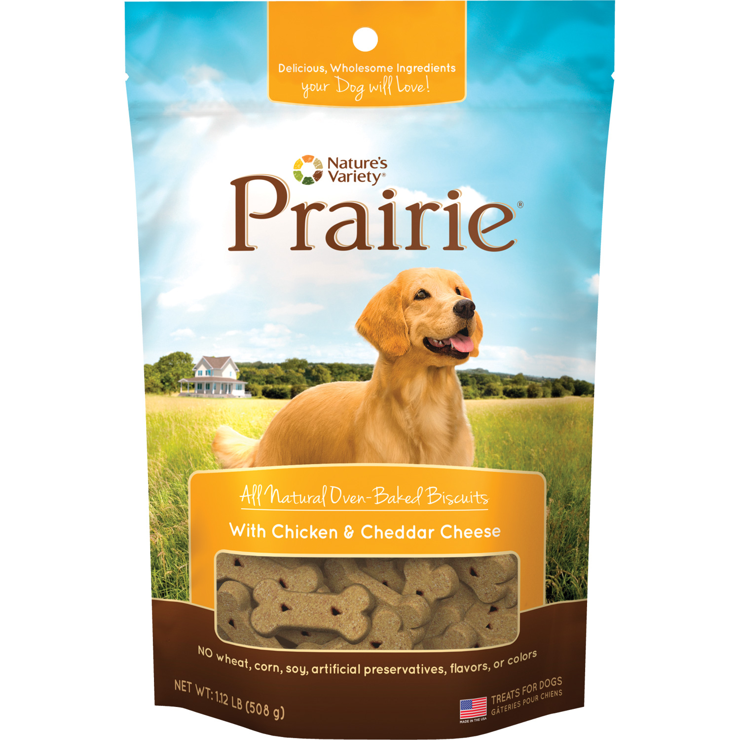 Nature's Variety Prairie Biscuits For Dogs