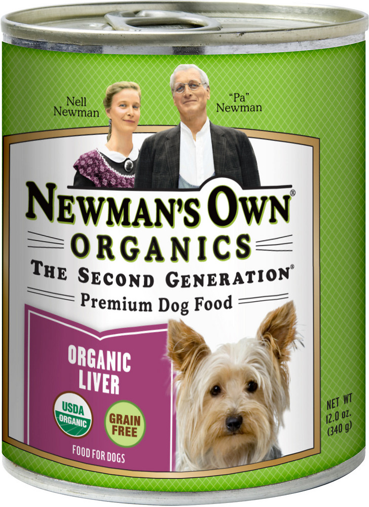 Newman's Own Organics Canned Liver Dog Food