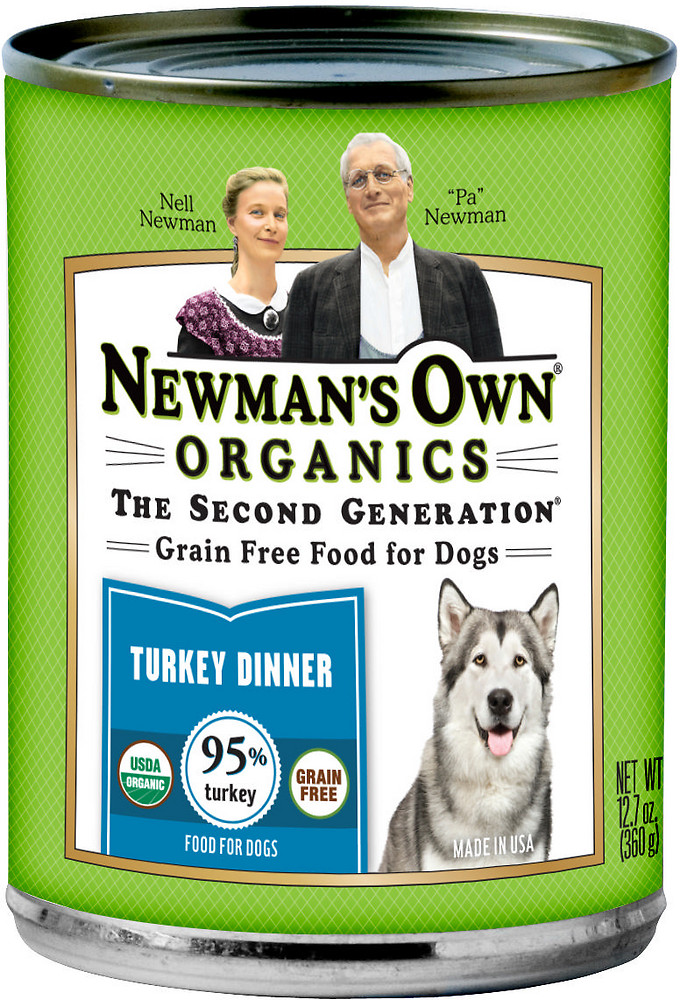 Newman's Own Organics Canned Turkey Dog Food