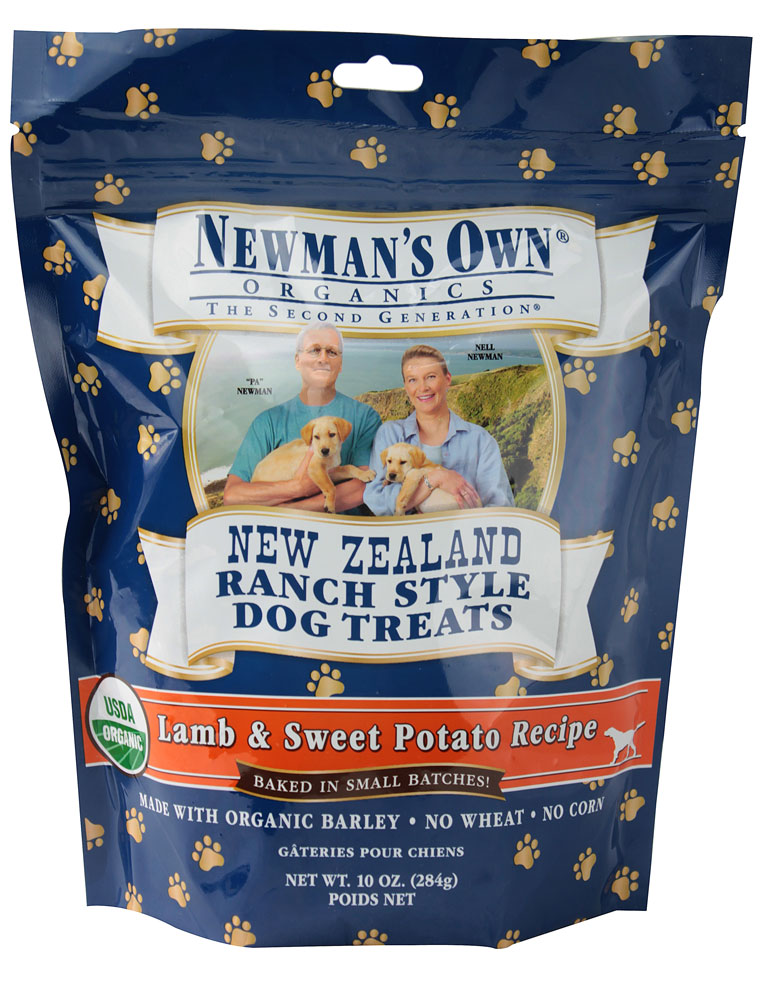 Newman's Own Organics New Zealand Ranch Style Dog Treats
