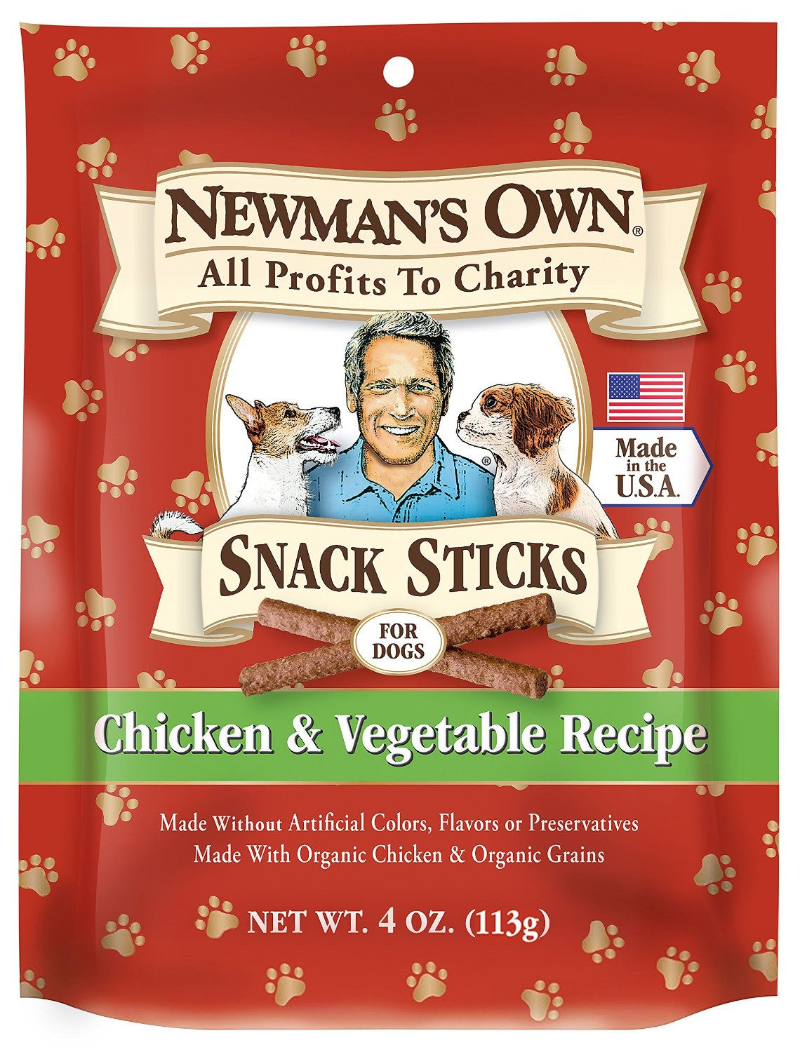 Newman's Own Organics Snack Sticks