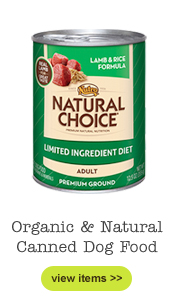 Organic Canned Dog Food